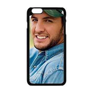 Cool Painting American Country Singer Luke Bryan Cell Phone Case for Iphone 6 Plus