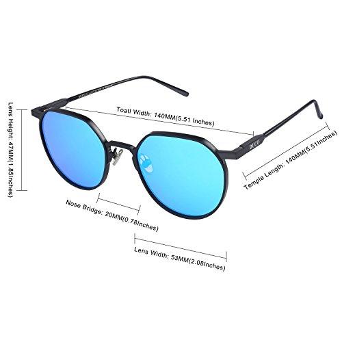 Lunettes Lunettes de soleil polarisées anti-UV UV400 ( couleur : Bleu ) r2D0BPZ