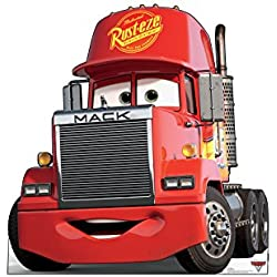 Advanced Graphics Mack Life Size Cardboard Cutout Standup - Disney Pixar's Cars 3 (2017 Film)