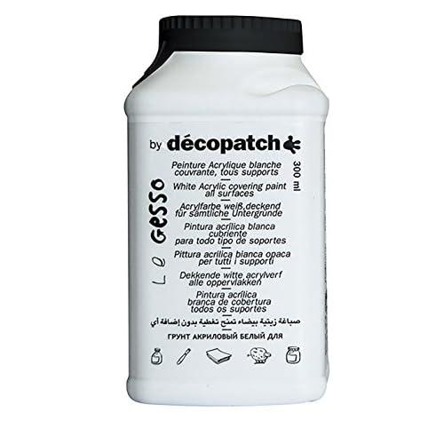 Decopatch GE300AO Gesso multilingue 300 g 6 x 6 x 12 cm Blanc