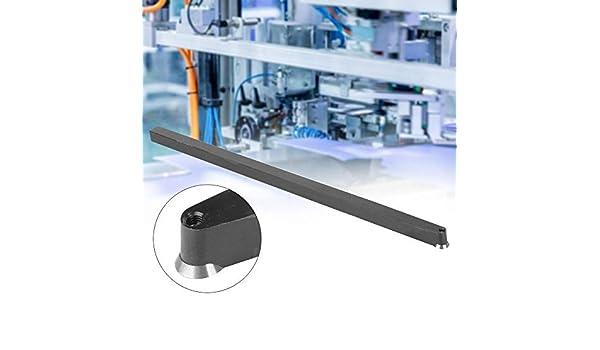 Herramienta de torneado de torno, herramienta de torneado de aleación de aluminio y acero, con insertos de torneado con punta de carburo CNC rombo/redondo/cuadrado(D): Amazon.es: Industria, empresas y ciencia