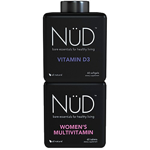 Womens Multi + Vitamin D-Combo -2 StackTake Charge of Your Day with an All-in-one Collection of Premier Vitamins for Women