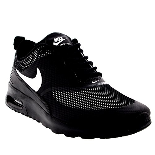 Womens Nike Air Max Thea Running Sporty Jogging Exercise Sneakers - Black/White - 6.5