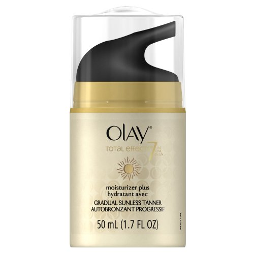 Olay Total Effects Moisturizer Plus Touch Of Sunless Tanner 1.7 Fl Oz