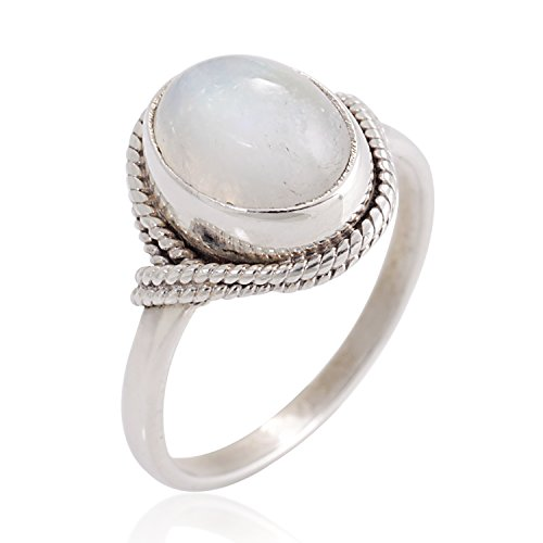 925-sterling-silver-white-moonstone-gemstone-oval-rope-edge-vintage-band-ring-size-7