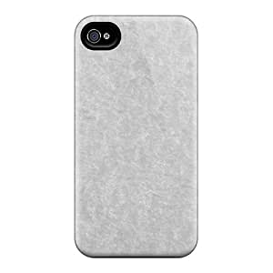 Special Design Back Gray Texture Phone Case Cover For Iphone 4/4s