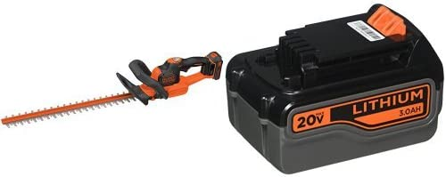 BLACK DECKER LHT321FF Hedge Trimmer 20-Volt Battery Pack