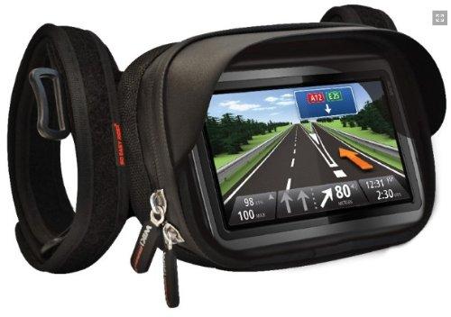 Magellan Gps Case - So Easy Rider V5 Handlebar Mount Waterproof Case for Tomtom Garmin Magellan GPS with 5