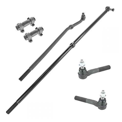 (Tie Rod End Drag Link Adjusting Sleeve LH RH Kit for Ram 1500 2500 3500 4WD)