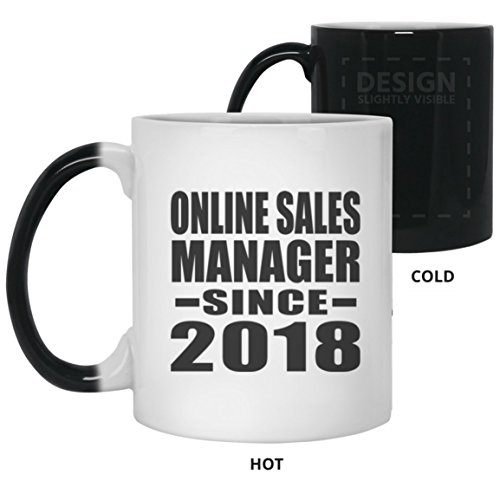 Online Sales Manager Since 2018-11 Oz Color Changing Mug, He