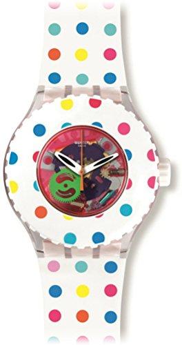 Swatch HAPPY DOTS Ladies Watch SUUK108
