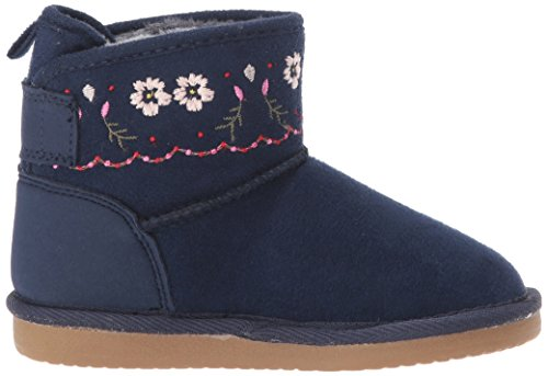Pictures of Carter's Girls' Tiana Fashion Boot Navy Navy 9 M US Toddler 3