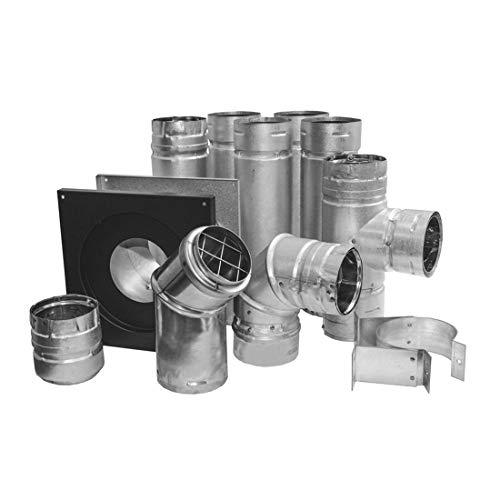DuraVent PelletVent 3 in. Pellet Stove Venting System (3PVL-KHA)