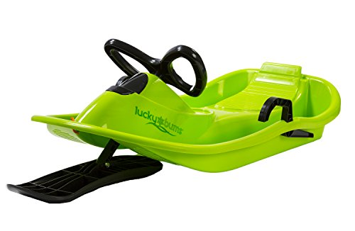 lucky-bums-plastic-racer-sled-40-inch-green-black