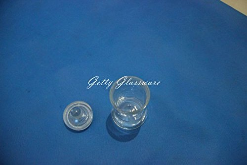 ground mouth with lid Lab Science Vintage museum specimen jar bottle 120x150mm