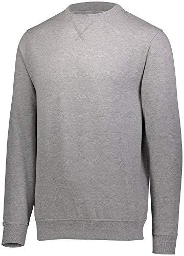 Augusta Sportswear Men's 60/40 Fleece Crewneck Sweatshirt L Charcoal Heather