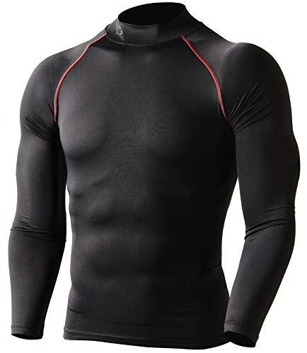 Defender Compression Men Shirt Under Gear Fits Cold Running BR_2XL