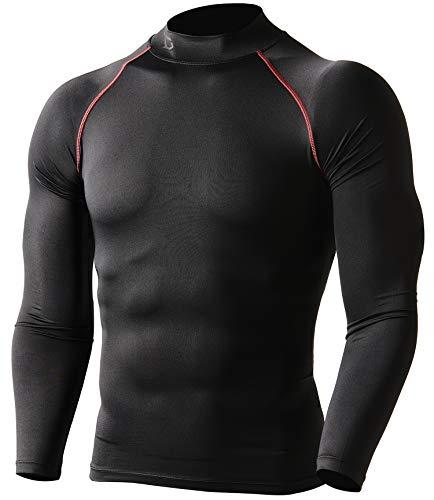 Defender Compression Men Shirt Under Gear Fits Cold Running BR_XL