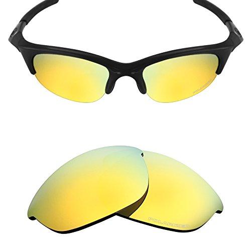 Mryok  Resist Seawater Replacement Lenses For Oakley Half Jacket Sunglass   Opt