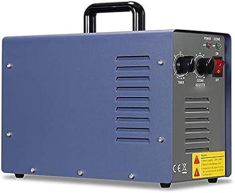 LCSD Purificador de Aire Ozono Generador Portátil, 7000 MG De Alta Capacidad Comercial De La Casa Aire Ionizadores De Habitaciones, Humo De Los Coches Y Mascotas