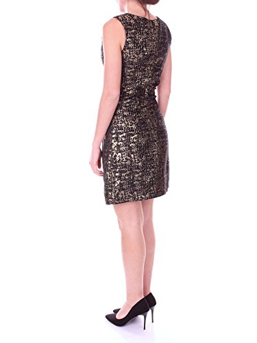 4650 Kleid Black Damen Kurzes blugirl Gold 7xB4R4vw