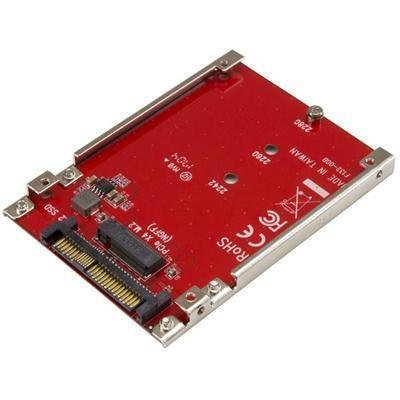 StarTech.com M.2 to U.2 Adapter - M.2 Drive to U.2 SFF-8639 Adapter - Works with M.2 PCIe NVMe Drives