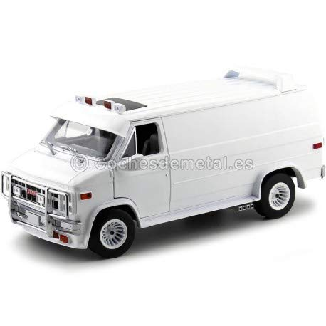 Greenlight 13522 1: 18 1983 GMC Vandura Custom - White - New Tooling