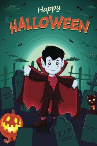 Happy Halloween 3 Grid Notebook: 150 page Grid Notebook Journal Diary (Spookies 150 Grid Notebooks) (Volume 92) -