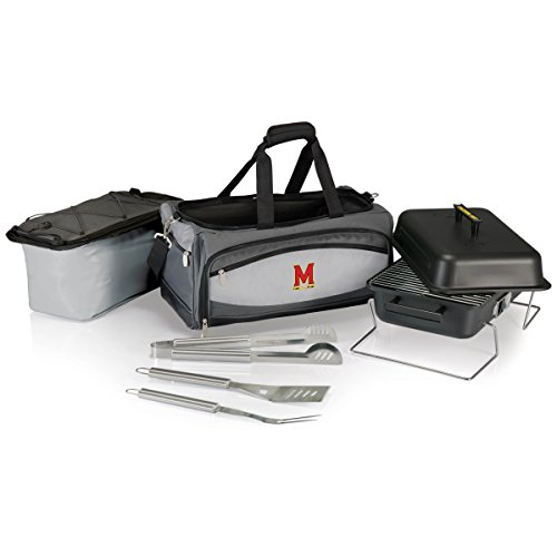 NCAA Maryland Terps Buccaneer Tailgating Cooler with Grill