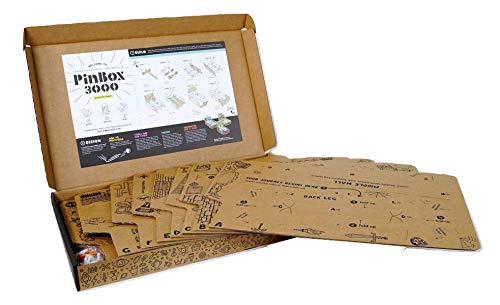 Set of 2 PinBox 3000 DIY Customizable Cardboard Make Your Own Pinball Machine Kit with No Tool Assembly by Cardboard Teck Instantute (Image #6)