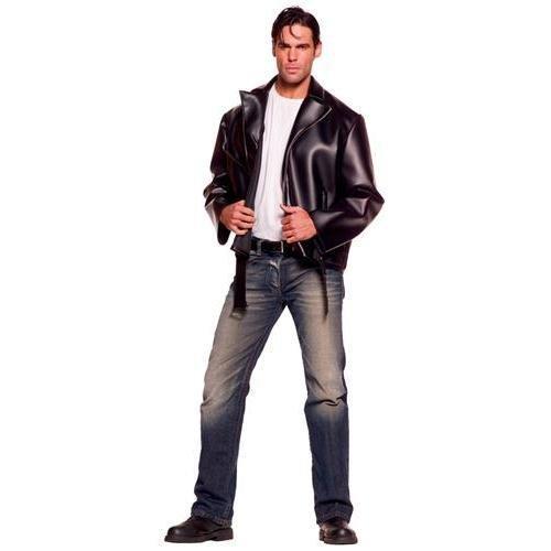 Underwraps Costumes Men's Plus-Size Greaser, Black, XX-Large