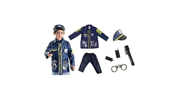 Disfraz para niños, abogado policía Play House uniforme bomberos carnaval juegos de rol, máscaras de carnaval de Halloween, 3-6 años 7: Amazon.es: Hogar