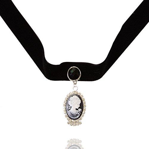 Collier Bijoux Femme De La Mode Declaration Collier Ras du Cou avec Pendentif