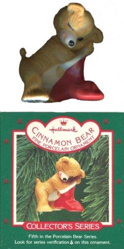 Hallmark 1987 Cinnamon Bear Christmas Ornament # 5