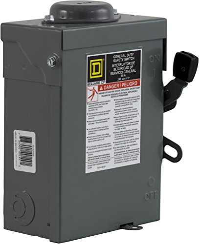 3 Pole Power Disconnect Switch - 4