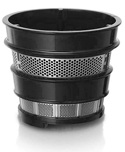 Caynel SJ448 Juicer Filters, Feeder Chute, Auger, Juicer Accessories for Masticating Slow Juicer (Strainer)