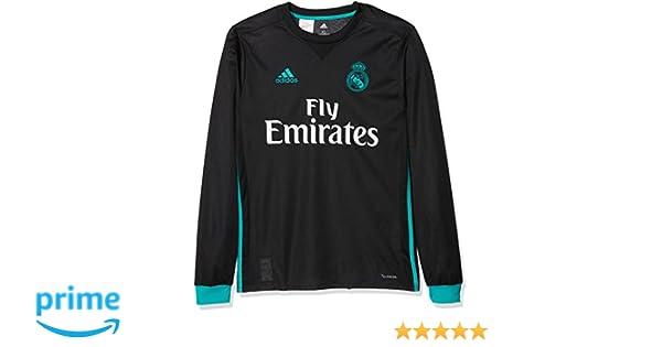 adidas A JSY Y LS Camiseta 2ª Equipación Real Madrid 2017-2018 ...