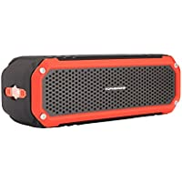 Bluetooth Portable Wireless speaker,Topmaxions Mini Wireless Outdoor and Shower Waterproof Sport Speaker with 10 Hour Rechargeable Battery Life,Pairs with All Bluetooth Devices ( orange/black)