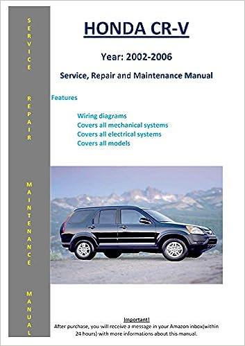 2001 honda crv owners manual free download