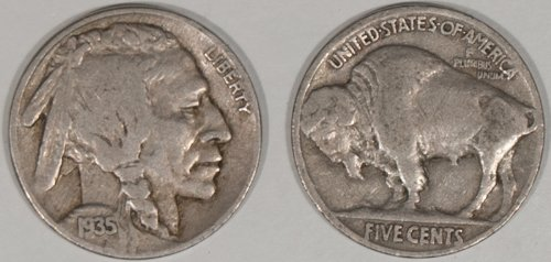 Full Date Roll of 40 Buffalo (Buffalo Nickel)