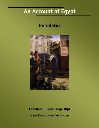 Download An Account of Egypt pdf epub