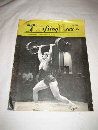 Iron Man Lifting News V. 14 #8 July 1968 Rick Holbrook Jim Maul Tommy - Jim Maul