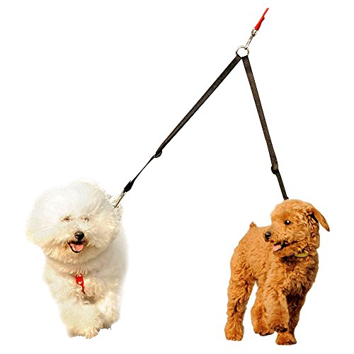Fusion Pet Supplies Double Dog Leash Coupler For Walking 2 Small Or Medium Sized Dogs - 16