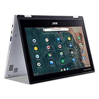 "Acer Chromebook Spin 311 Convertible Laptop, Intel Celeron N4020, 11.6"" HD Touch, 4GB LPDDR4, 32GB eMMC, Gigabit Wi-Fi 5, Bluetooth 5.0, Google Chrome, CP311-2H-C679"