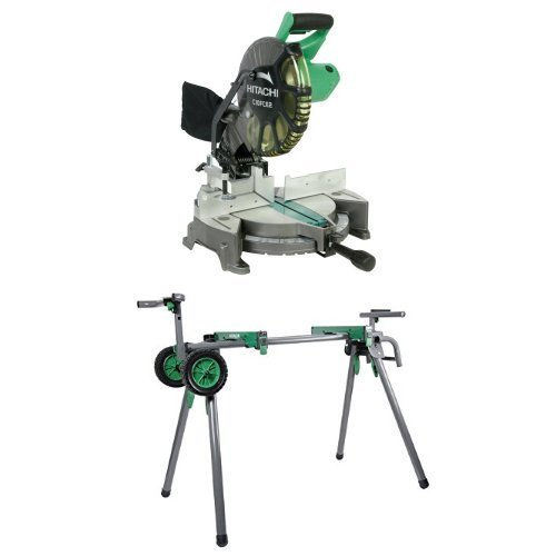 Find Discount Hitachi C10FCE2 15-Amp 10-inch Single Bevel Compound Miter Saw and Heavy-Duty Miter Sa...