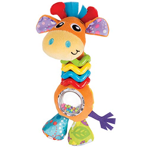Playgro My First Bead Buddies Giraffe for baby infant toddler children 0181561107, Playgro is Encouraging Imagination with STEM/STEM for a bright future - Great start for a world of learning ()