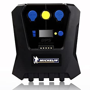 Michelin 12266 High Power Rapid Tyre Inflator Black And Blue