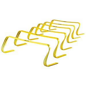"SKLZ 6x Hurdles 6"" Ultra Durable, All Purpose Speed Training, Agility, and Plyometric Hurdles (Set of 6)."