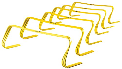 "SKLZ 6x Hurdles- 6"" Ultra Durable, All Purpose Speed Training, Agility, and Plyometric Hurdles (Set of 6). by SKLZ"