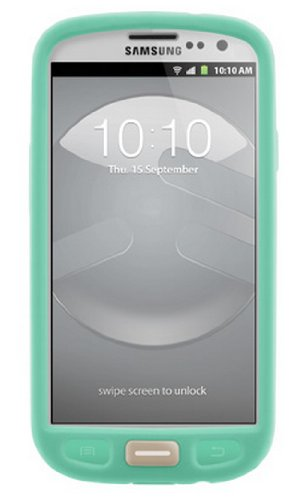 (SwitchEasy SW-COLG3-MT Colors Silicone Case for Samsung Galaxy S III - 1 Pack - Retail Packaging - Mint)